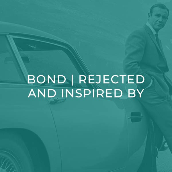 Bond Rejected tracks and inspired by Bond films.